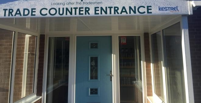 Kestrel distributor Europlas opens Shropshire trade counter