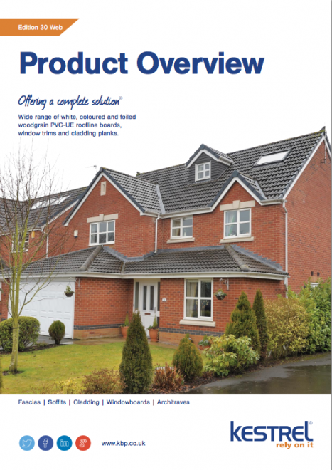 Kestrel's 30th catalogue showcases UPVC building products range